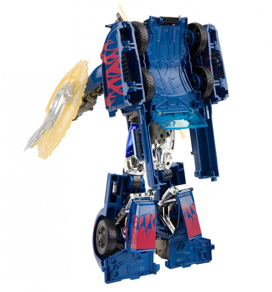 Робот-трансформер стальной ''Оптимус прайм (щит и меч ...
