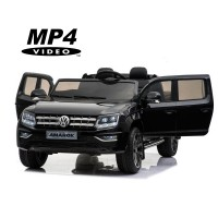 Детский электромобиль Volkswagen Amarok Black 4WD MP4 - DMD-298-BLACK-MP4
