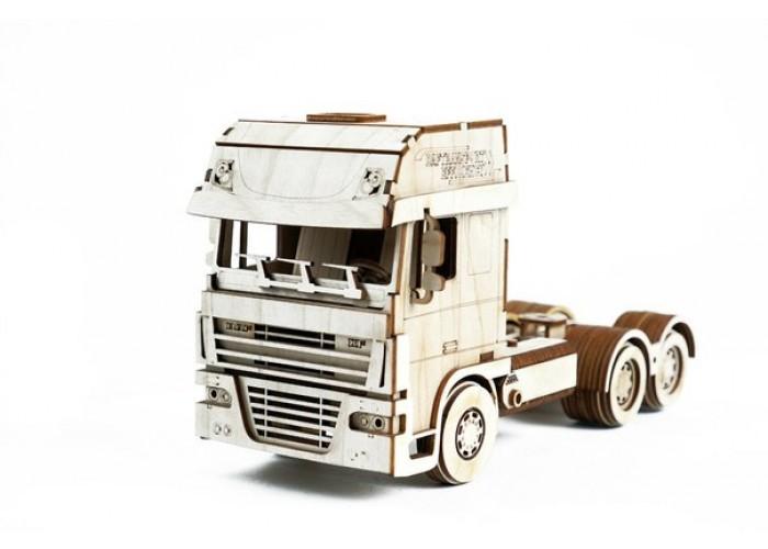 Конструктор 3D деревянный подвижный Lemmo Грузовик с ...
